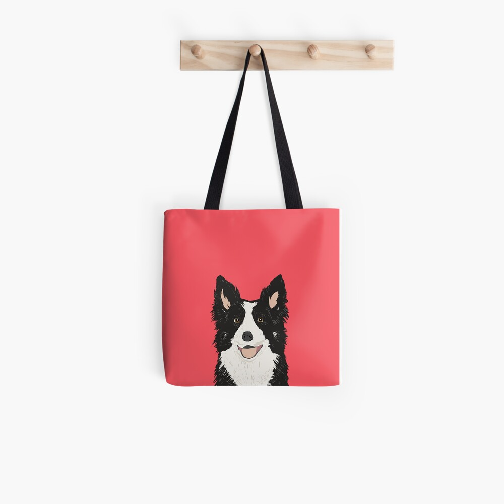 Montana - Border Collie gifts for dog people and dog lovers gifts for the dog person Tote Bag