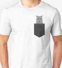 Kai - British shorthair cat themed gift ideas for cat lovers and cat people. cat lady gifts.  Unisex T-Shirt