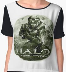 Halo Vintage combat evolved Chiffon Top