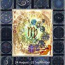 ARTFUL ASTROLOGY - VIRGO by FRANKEY CRAIG