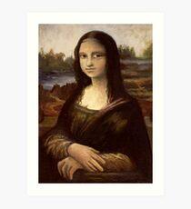 ACEO Mona Lisa I Art Print