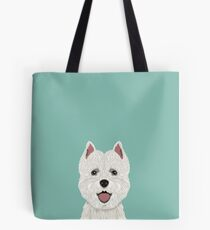Jamie - Highland Terrier gifts for dog people and dog lovers Tote Bag