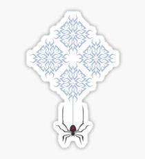 Widowmaker Logo inspired print [BLUE] Sticker