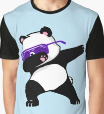 Dabbing Panda Graphic T-Shirt