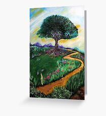 Tree Of Imagination Greeting Card
