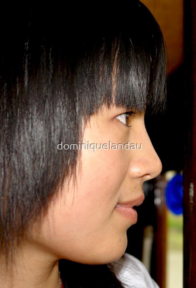 beautiful girl by dominiquelandau