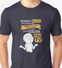 Nobody Exists on Purpose Slim Fit T-Shirt