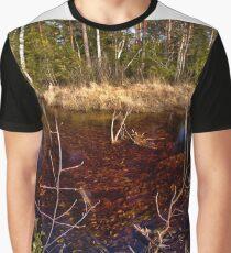 Brännösbäcken at Store Mosse Graphic T-Shirt