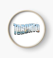 Toronto Typography Day Clock