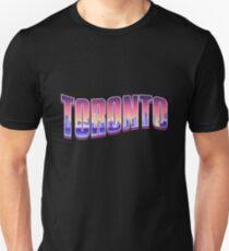 Toronto Typography Night Unisex T-Shirt