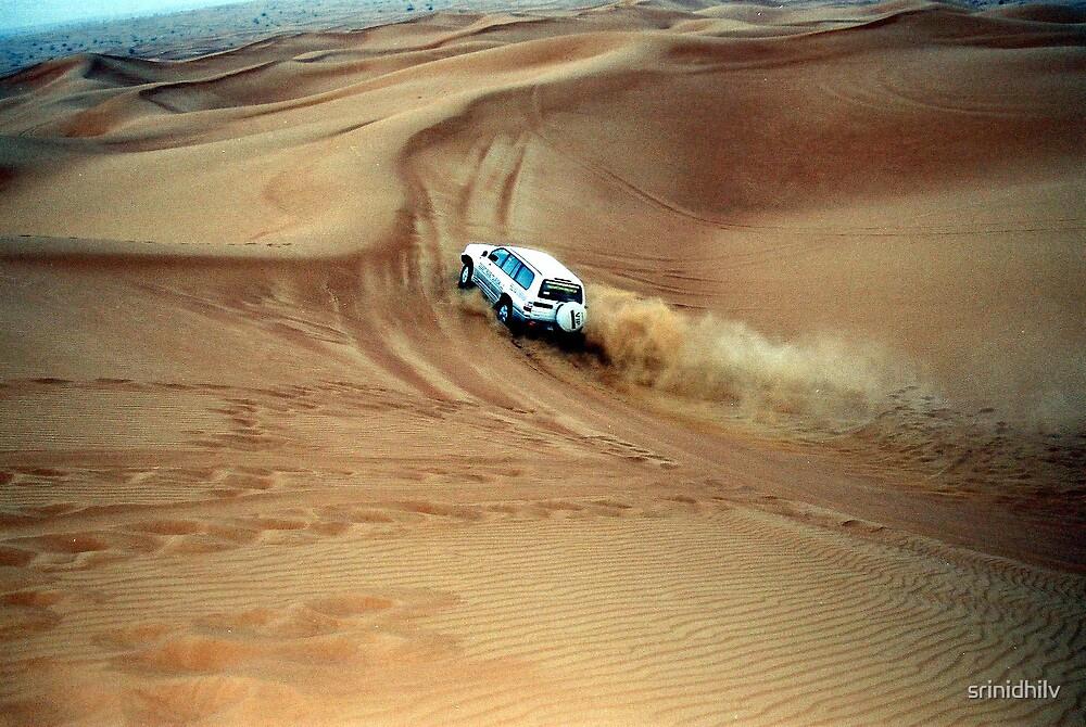 Dune Bashing by srinidhilv