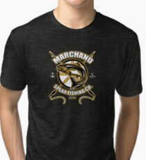 Marchand Spear Fishing Company Tri-blend T-Shirt