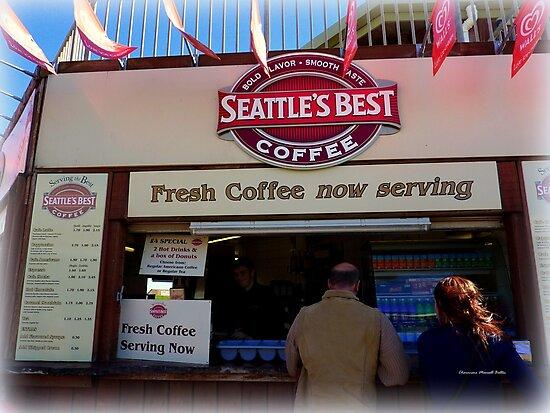 'Seattle's Best' Coffee  in Dawlish by Charmiene Maxwell-Batten