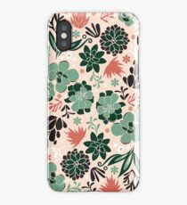 Succulent flowerbed iPhone Case/Skin