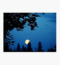 You Are The Moon Photographic Print