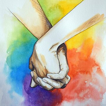 Holding hands | Love all | LGBT by RubenMeer