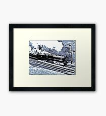 Scarborough Spa Express Graphic Novel Framed Print
