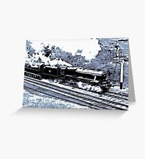 Scarborough Spa Express Graphic Novel Greeting Card