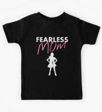 Fearless Girl - MOM - Pink Kids Tee
