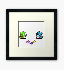Bubble Bubble's Candy Framed Print