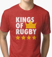 Wigan Warriors - Kings of Rugby Tri-blend T-Shirt