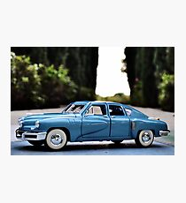 1948 Sky Blue Tucker Deluxe  Photographic Print