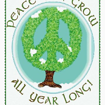 Peace Grows by IArtist
