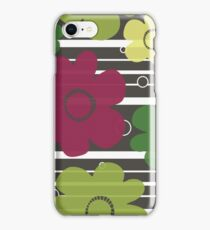 Layered Floral iPhone Case/Skin