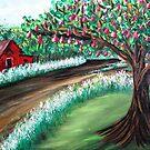 Red Pear Farm by WhiteDove Studio kj gordon