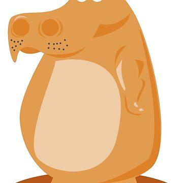 Comic Hippo. by Claudiocmb