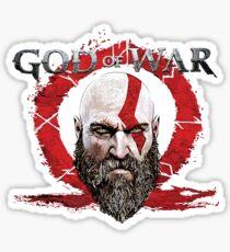 Kratos God Of War Sticker
