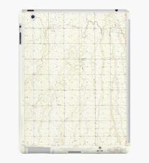 USGS TOPO Map Colorado CO Sunnydale 402120 1949 24000 iPad Case/Skin