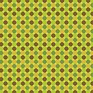 Green Dots & Squares by Annie Webster