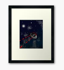 Space Invaders Framed Print