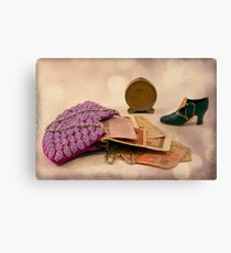 Purse Full Of Money And Lots Of Time  Canvas Print