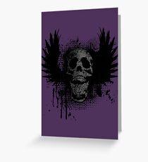 Screaming for grunge Greeting Card