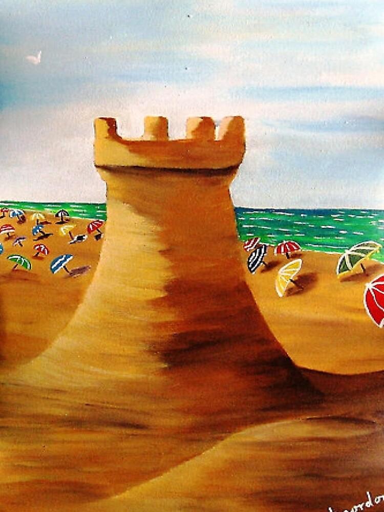 SAND CASTLE by WhiteDove Studio kj gordon