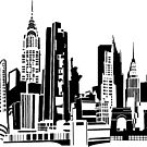 NYC Landmarks by Tai's Tees by TAIs TEEs