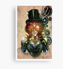 steampunk tophat Canvas Print