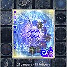 ARTFUL ASTROLOGY - AQUARIUS by FRANKEY CRAIG