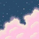 Cotton Candy Galaxy (8bit) by sp8cebit