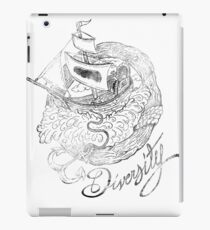 """Diversity - """"An Old, Old Wooden Ship"""" iPad Case/Skin"""
