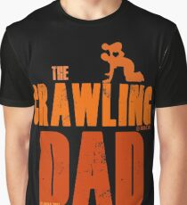 The Crawling Dad (TM) Father's Day Shirt Gift Ideas Presents For Dad Daddy Papa Horror Movie Zombie Funny Humor Parody Graphic T-Shirt
