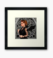 Beautiful Witch Framed Print