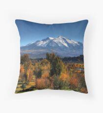 Mt Sopris Throw Pillow