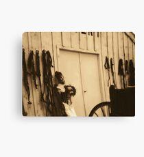 saloon girl Canvas Print