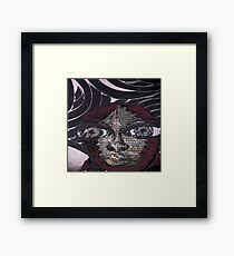Graphic Afro Framed Print