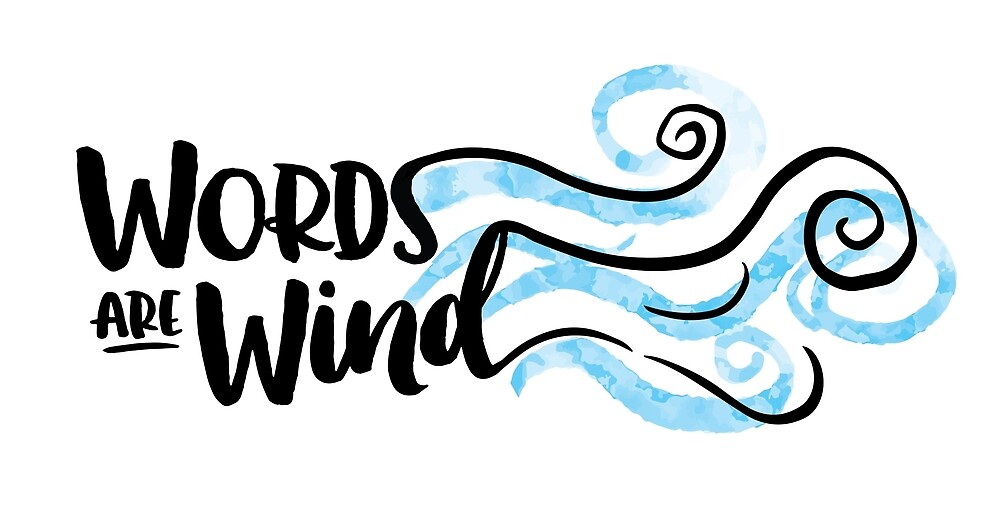 Words are Wind by Kathleen Johnson