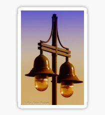 Street Lamps Sticker