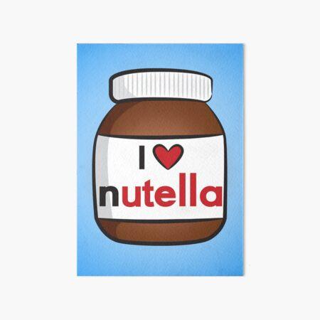I <3 Nutella Art Board Print